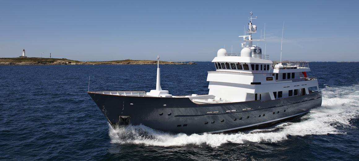 Axantha 2 - navire d'exploration - jfa yachts / vripack