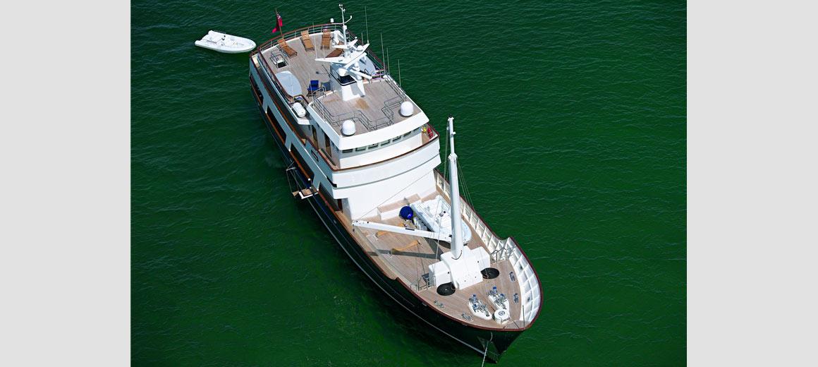 Axantha Research vessel jfa yachts vripack