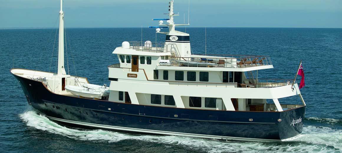 Axantha Research vessel - jfa yachts / vripack