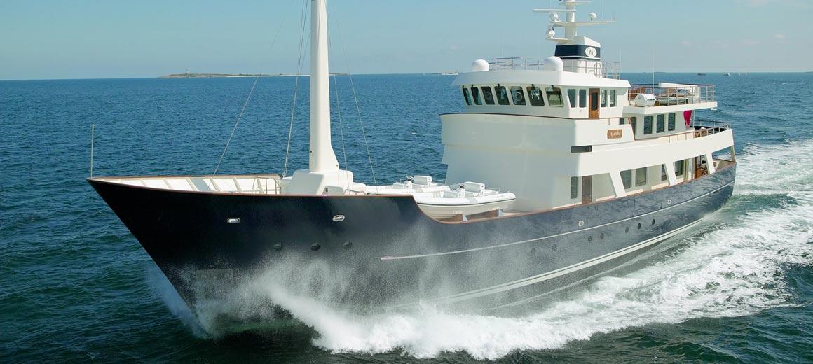 Research vessel - Axantha - jfa yachts / vripack