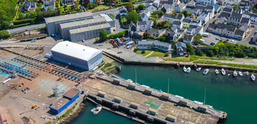 Infrastructures chantier naval France