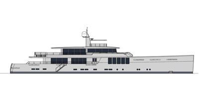 Motor Yacht – New Explorer 164′