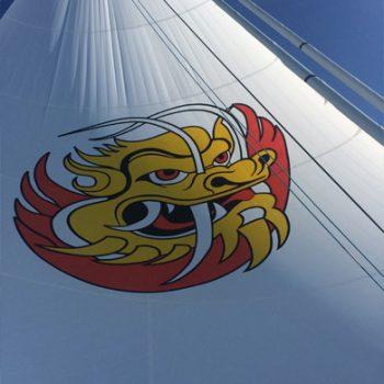 Mari Cha III logo voile