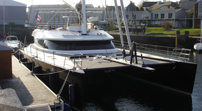 Mashua Bluu – 95′ Catamaran Sloop