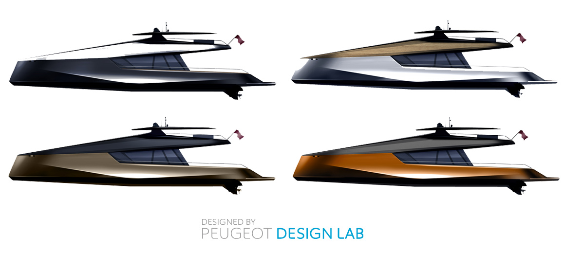 concept catamaran power