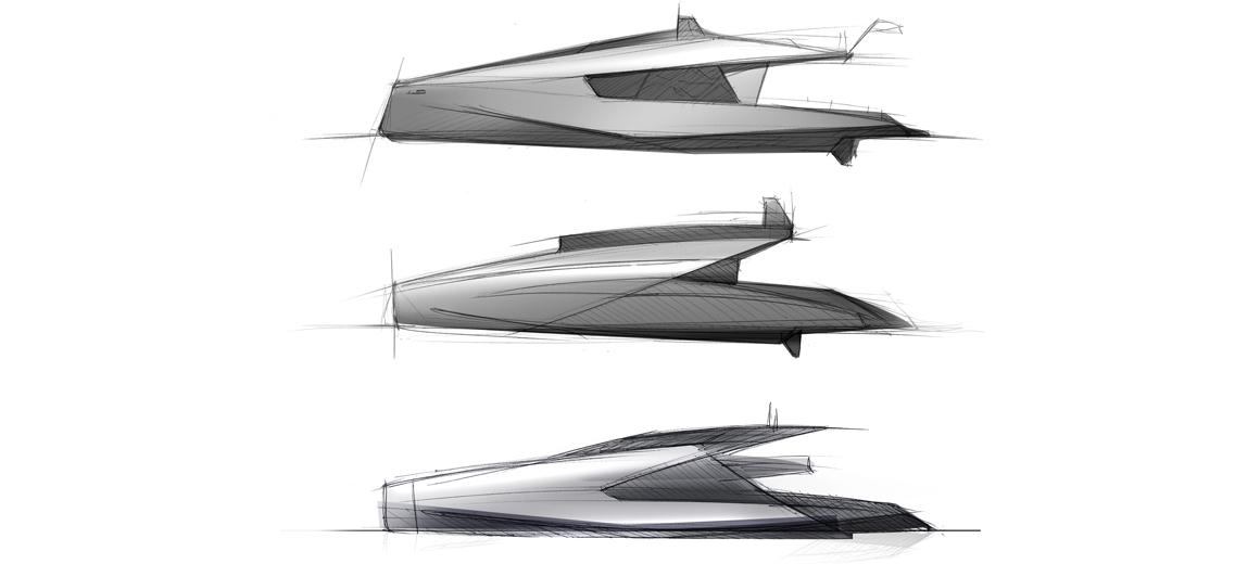 concept catamaran