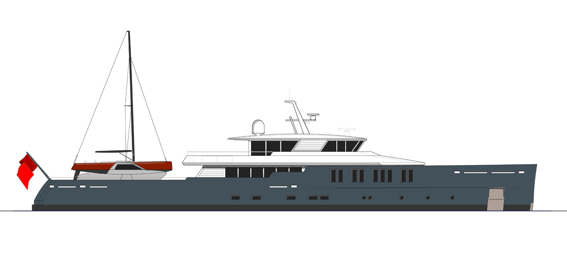 Expedition motor yacht 164'