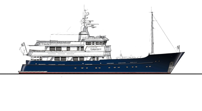 Motor yacht d'Exploration 141′