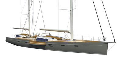 Modern Ketch – 100′ Sailing Yacht