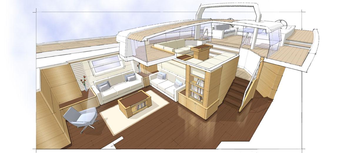 Modern ketch - JFA Yachts - Rhoades Young Design