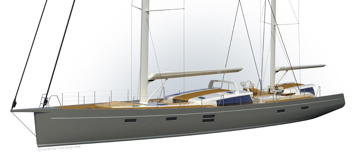 Modern Ketch - 100' Sailing Yacht - JFA Yachts