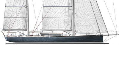 Ketch Classique – Sailing Yacht 152′