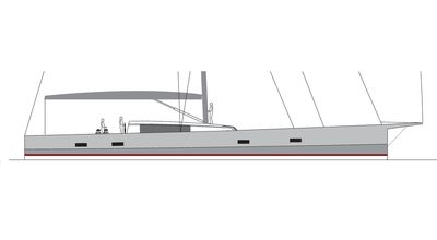 Fast Carbon Cruiser – 110′ Sailing Yacht