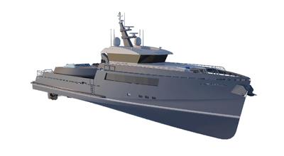 Motor Yacht – Adventure Yacht 139′