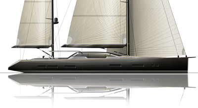Ketch – Sailing yacht 114′