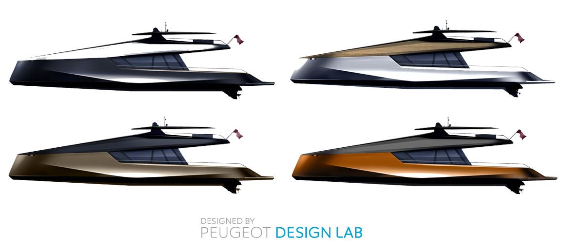 concept catamaran power