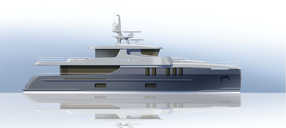 Explorer yacht 110' - Van Der Velden