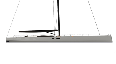 Fast Cruiser Racer – 130′ Sailing Yacht