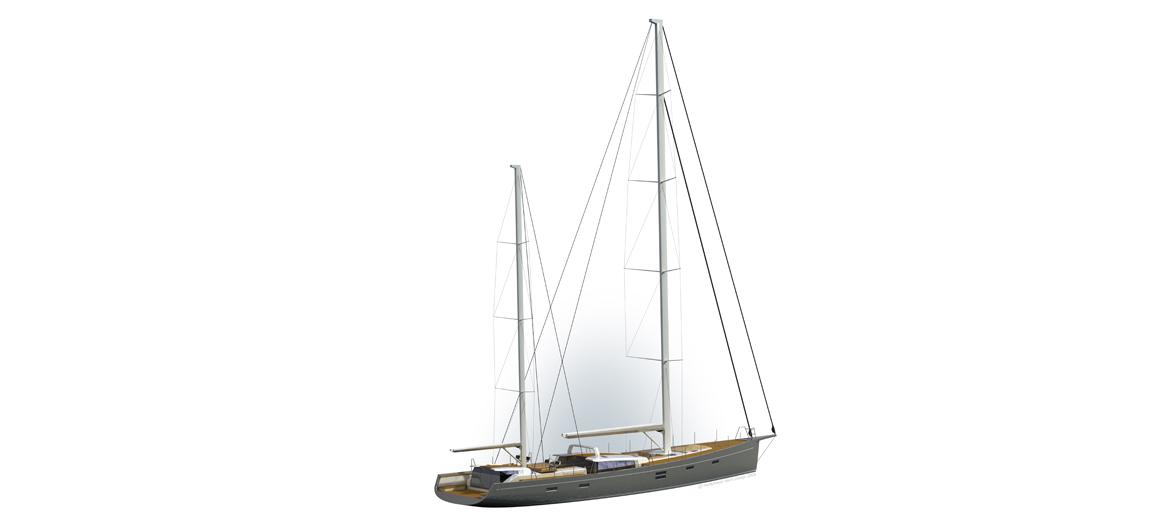 Modern ketch - JFA Yachts - Humphrey Yacht Design