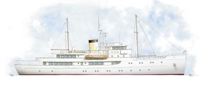 Classic Yacht – Motor Yacht 196′
