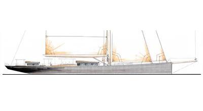 Modern Classic – 131′ Sailing Yacht