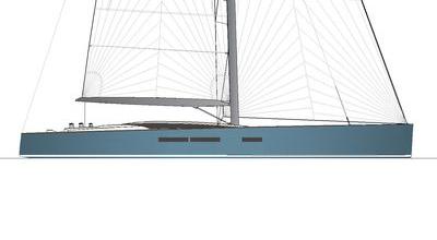 Sloop moderne – 105′ Fast Cruising sloop